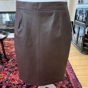 Leather skirt by Excelled